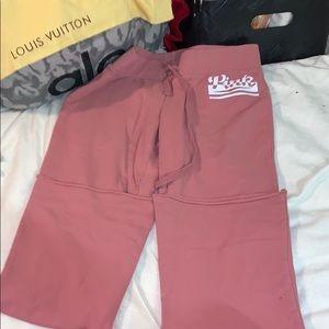 PINK Victoria's Secret Pants - Pink sweatpants